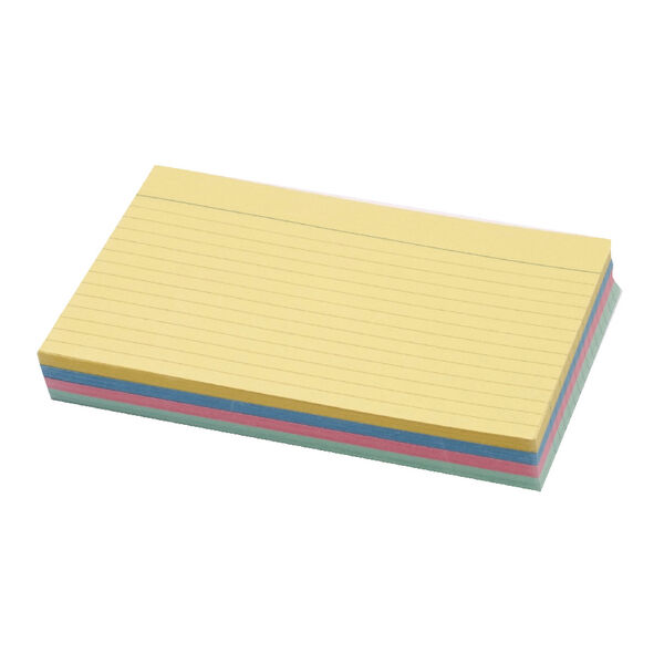 CONCORD ASSORTED COLOUR RECORD CARDS PACK 100 - SIZE CHOICE **GREAT PRICES**