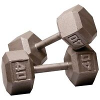 Wanted: 40lbs dumbbells