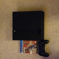 Barely Used PS4