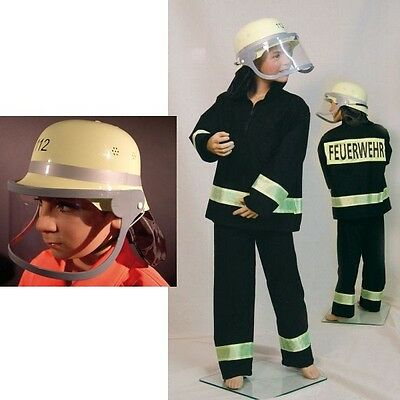 - Kinder Feuerwehrmann Kostüm