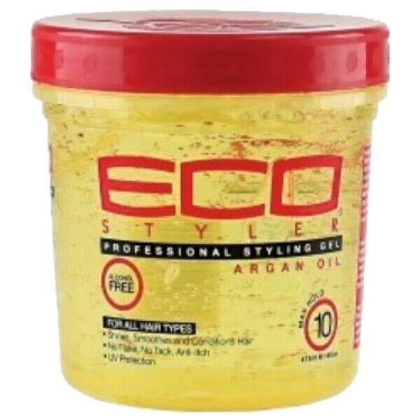 Eco Styler Professional Haar Styling Gel mit Marokka Argan Öl Maximum Halt 473ml