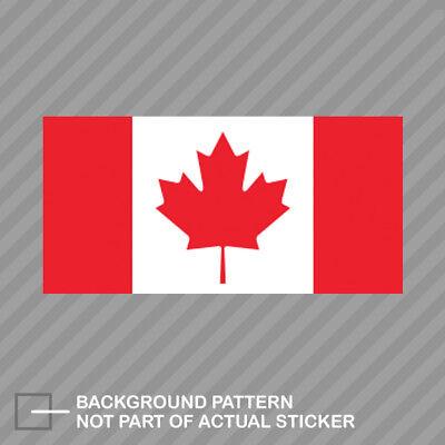 Canadian Flag Sticker Decal Vinyl canada