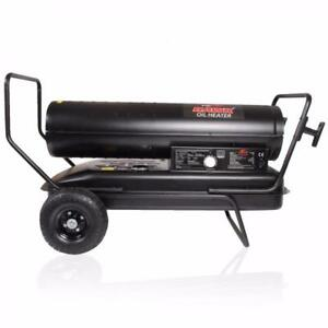 NEW 51 KW DIESEL HEATER INDUSTRIAL SHOP FUEL HEATER PORTABLE 175,000 BTU