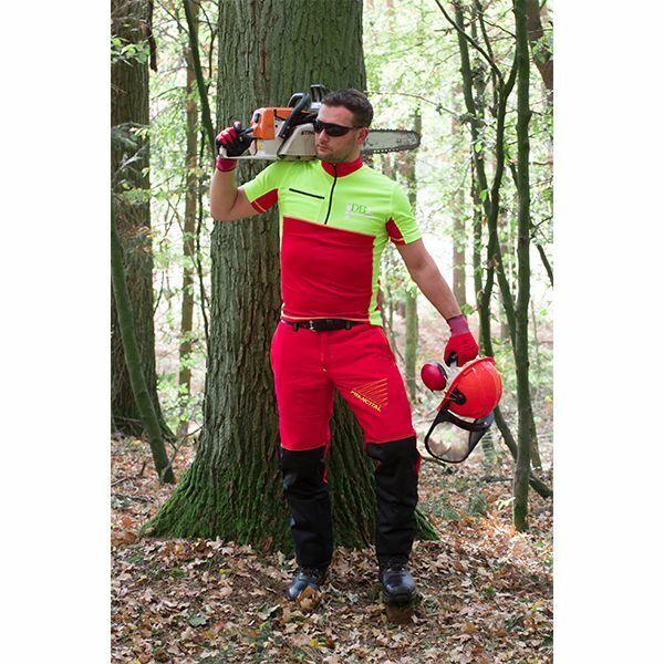 Forest Fighter PROFI Schnittschutzhose Bundhose Forstkleidung Forsthose Stretch