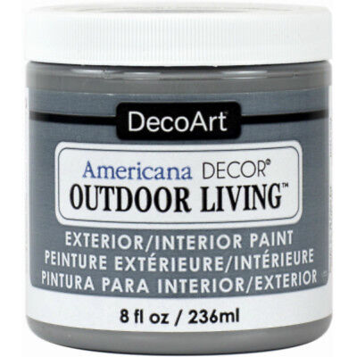 Americana Decor ADOL25-36 Outdoor Living Craft Paint, Rock Garden, 8 Oz for sale  Albany