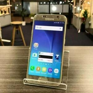 Good condition Galaxy S6 Gold 32G AU MODEL INVOICE WARRANTY Carrara Gold Coast City Preview