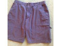 Men's dark grey shorts