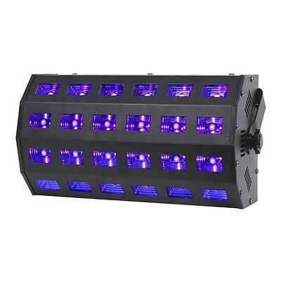 Equinox UV Power Flood Compact Ultra Violet DJ Disco Party LED Lighting Effect