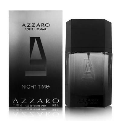 Azzaro Night Time 3 4 Oz 3 3 Edt Cologne For Men Brand New In Box