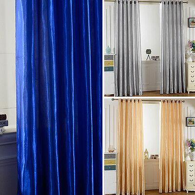 Multi-Farben-Haus Fenster Vorhänge Tür Zimmer Vorhang drapiert Panel Schürzen Multi Farbe Vorhänge