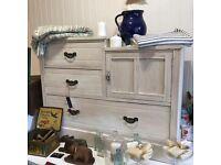 Antique vintage drawers / sideboard SOLD