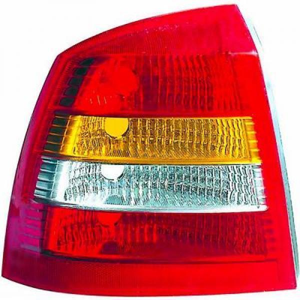 Scheinwerfer linke Rückleuchte OPEL ASTRA G 97-04 3/5 pt
