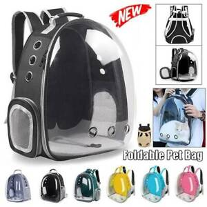 NEW Pet Travel Backpack Breathable Bag Portable Puppy Carrier Space Ca