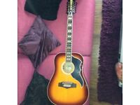 Twelve string electric acoustic