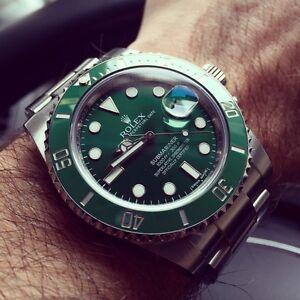"""Rolex Submariner 116610LV """"Hulk"""" 2 months old!!"""
