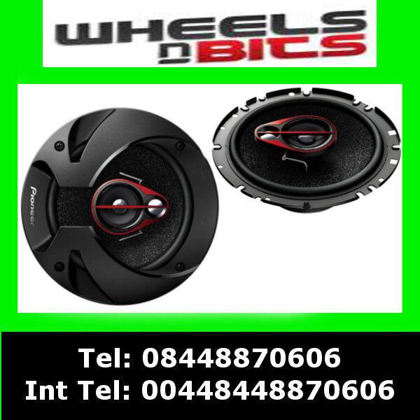Pioneer TS-R1750s 17cm 3 Way Coaxial Speakers Door Shelf 250 Watts x2 speakers