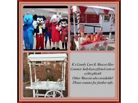 Candy Cart & Mascot Hire