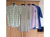 13 men's shirts Ben Sherman lambretta lacoste