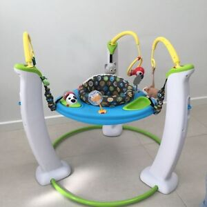 soucoupe exersaucer evenflo stationnary jumper my first pet