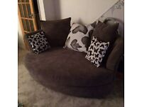3 seater & cuddle couch suite 3 months old