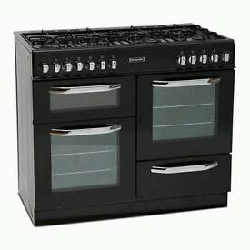 Brand dual fuel gas cooker 8burners 2years warranty fully working
