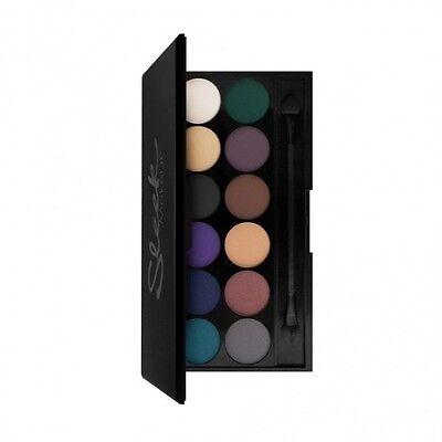 Sleek Makeup Make Up I-Divine 12 Colour Eyeshadow - V2 Ultra Matte