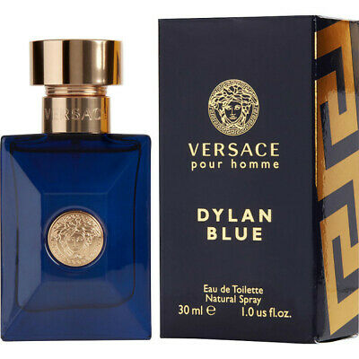VERSACE POUR HOMME DYLAN BLUE EAU DE TOILETTE SPRAY FOR HIM 30ML - SEALED BOX