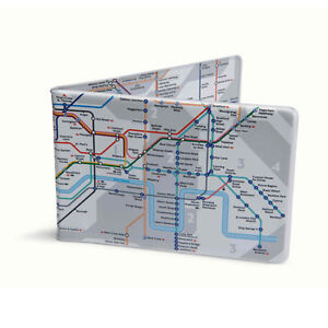 London Underground Tube Map Oyster Card Travel Card Wallet | eBay