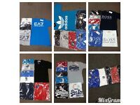 Men's Designer Tshirts/Polos - BULK BUY - WHOLESALE - TRUSTED SELLER - BEST PRICES