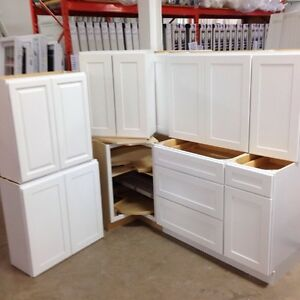 White Shaker style kitchen cabinets***SOLD***