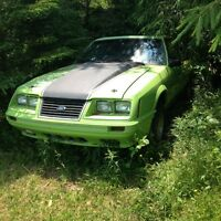 1984 Mustang GT for parts or rebuild