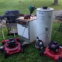 I WANT YOUR SCRAP METAL AND APPLIANCES FOR RECYCLING NO CHARGE