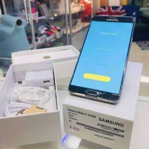 BRAND NEW GALAXY NOTE 5 32GB BLACK UNLOCKED TAX INVOICE Surfers Paradise Gold Coast City Preview