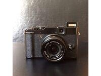 Fuji X10 retro camera