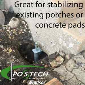Helical Screw Pile Foundations By Postech Windsor Region Ontario image 4