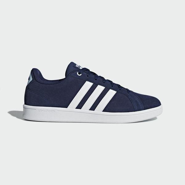 ADIDAS NEO CF ADVANTAGE sneakers BLU scarpe uomo cloudfoam mod. B43659 ORIGINALI