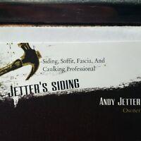 JETTER'S SIDING