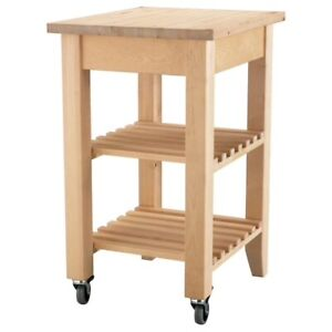 Ikea Bekvam Kitchen Cart For
