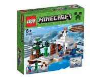 Brand new Lego 21120 minecraft snow hideout