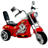 Lil' Rider 80-Vc108 Lil Rider Red Rocking Three Wheel Chopper Mo