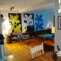 FURNISHED 4 BDRM Executive Condo/townhouse for rent