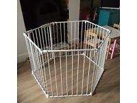 Lindum safe and secure metal playpen