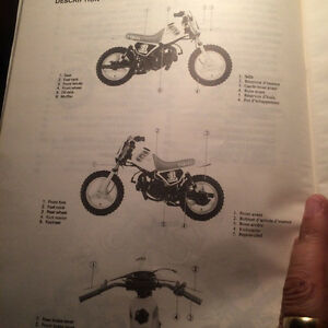 1982 Yamaha Factory PW50K Owners Service Manual Regina Regina Area image 3