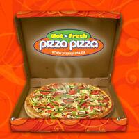 Etobicoke Pizzapizza is looking for Counter helper