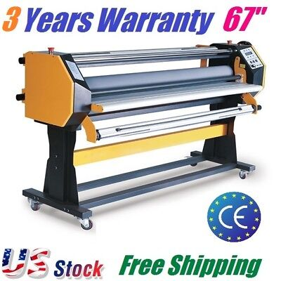 67 Full-auto Wide Format Hot Cold Laminating Machine Hot Cold Laminator 1630mm