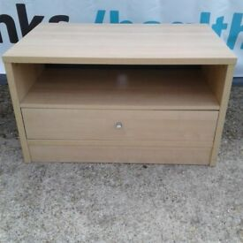 Smart Solid TV Stand with drawer