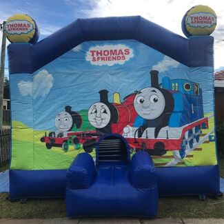 Thomas the tank engine jumping castle for hire