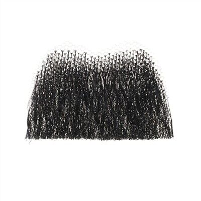 HUMAN HAIR CHARLIE CHAPLIN COMEDIAN MOUSTACHE COSTUME MUSTACHE BLACK GERMAN](Costume Moustache)