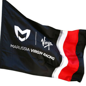 Marussia Virgin Racing F1 (MV06F) Team Flag (no pole supplied) BNWT rrp£13