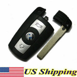 Car Smart Remote Key FOB Shell Case for BMW E90 E93 E92 M3 M5 X3 X5 1 3 5 6 7